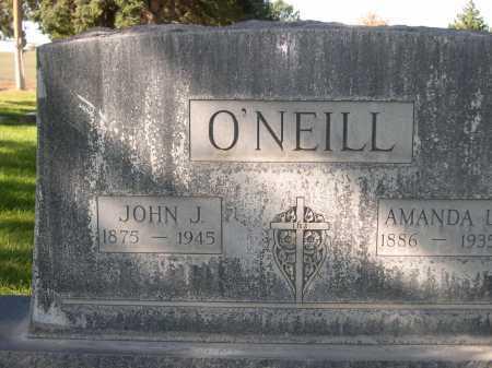 O'NEILL, JOHN J. - Dawes County, Nebraska   JOHN J. O'NEILL - Nebraska Gravestone Photos