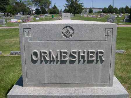 ORMESHER, FAMILY - Dawes County, Nebraska | FAMILY ORMESHER - Nebraska Gravestone Photos