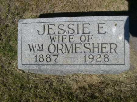 ORMESHER, JESSIE E. - Dawes County, Nebraska | JESSIE E. ORMESHER - Nebraska Gravestone Photos