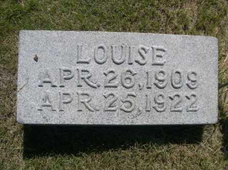 ORMESHER, LOUISE - Dawes County, Nebraska | LOUISE ORMESHER - Nebraska Gravestone Photos