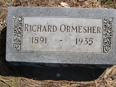 ORMESHER, RICHARD - Dawes County, Nebraska | RICHARD ORMESHER - Nebraska Gravestone Photos