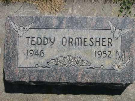 ORMESHER, TEDDY - Dawes County, Nebraska | TEDDY ORMESHER - Nebraska Gravestone Photos
