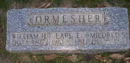 ORMESHER, WILLIAM H. - Dawes County, Nebraska | WILLIAM H. ORMESHER - Nebraska Gravestone Photos
