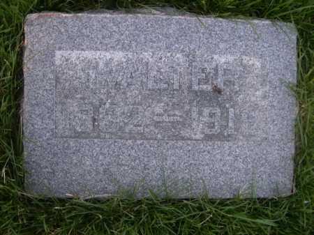 ORMESHER, WALTER - Dawes County, Nebraska | WALTER ORMESHER - Nebraska Gravestone Photos