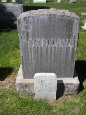 OSBORNE, FAMILY - Dawes County, Nebraska | FAMILY OSBORNE - Nebraska Gravestone Photos