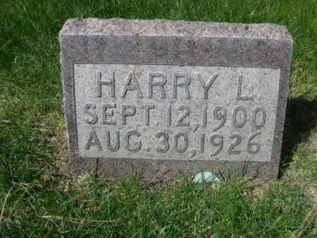OSBORNE, HARRY L. - Dawes County, Nebraska | HARRY L. OSBORNE - Nebraska Gravestone Photos