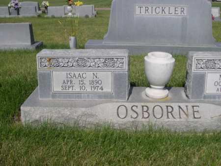 OSBORNE, ISSAC N. - Dawes County, Nebraska | ISSAC N. OSBORNE - Nebraska Gravestone Photos