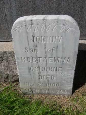 OSBORNE, JOHNNY - Dawes County, Nebraska | JOHNNY OSBORNE - Nebraska Gravestone Photos