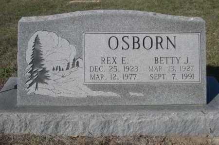 OSBORN, BETTY J. - Dawes County, Nebraska | BETTY J. OSBORN - Nebraska Gravestone Photos