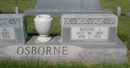 OSBORNE, MINNIE I. - Dawes County, Nebraska | MINNIE I. OSBORNE - Nebraska Gravestone Photos