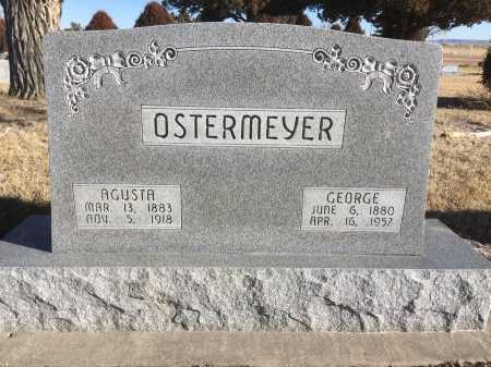 OSTERMEYER, GEORGE - Dawes County, Nebraska | GEORGE OSTERMEYER - Nebraska Gravestone Photos