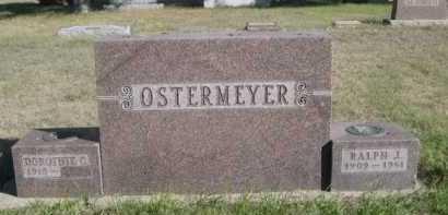 OSTERMEYER, DOROTHY C. - Dawes County, Nebraska | DOROTHY C. OSTERMEYER - Nebraska Gravestone Photos