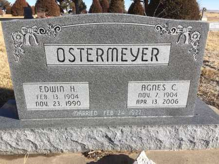 OSTERMEYER, EDWIN H. - Dawes County, Nebraska | EDWIN H. OSTERMEYER - Nebraska Gravestone Photos