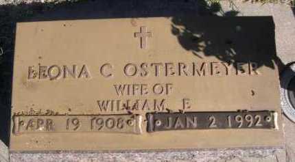 OSTERMEYER, LEONA C. - Dawes County, Nebraska   LEONA C. OSTERMEYER - Nebraska Gravestone Photos
