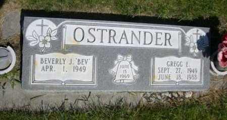 OSTRANDER, GREGG E. - Dawes County, Nebraska | GREGG E. OSTRANDER - Nebraska Gravestone Photos