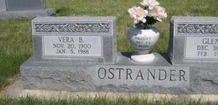 OSTRANDER, VERA B. - Dawes County, Nebraska   VERA B. OSTRANDER - Nebraska Gravestone Photos