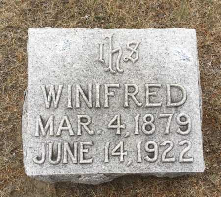OVERMYER, WINIFRED - Dawes County, Nebraska   WINIFRED OVERMYER - Nebraska Gravestone Photos