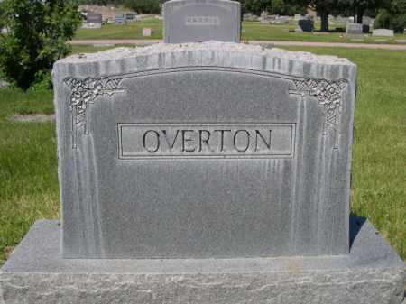 OVERTON, FAMILY - Dawes County, Nebraska | FAMILY OVERTON - Nebraska Gravestone Photos