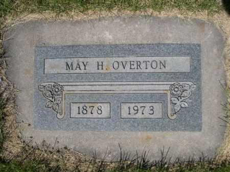 OVERTON, MAY H. - Dawes County, Nebraska | MAY H. OVERTON - Nebraska Gravestone Photos