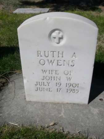 OWENS, RUTH A. - Dawes County, Nebraska | RUTH A. OWENS - Nebraska Gravestone Photos