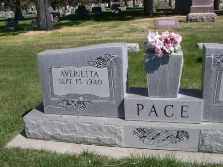 PACE, AVERIETTA - Dawes County, Nebraska | AVERIETTA PACE - Nebraska Gravestone Photos