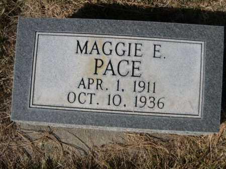 PACE, MAGGIE E. - Dawes County, Nebraska | MAGGIE E. PACE - Nebraska Gravestone Photos