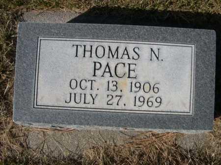 PACE, THOMAS N. - Dawes County, Nebraska   THOMAS N. PACE - Nebraska Gravestone Photos