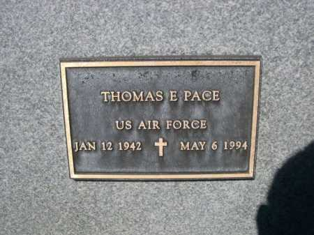 PACE, THOMASE. - Dawes County, Nebraska | THOMASE. PACE - Nebraska Gravestone Photos