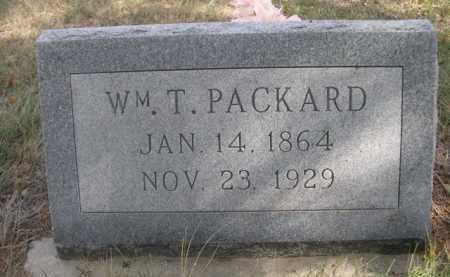 PACKARD, WM. T. - Dawes County, Nebraska | WM. T. PACKARD - Nebraska Gravestone Photos