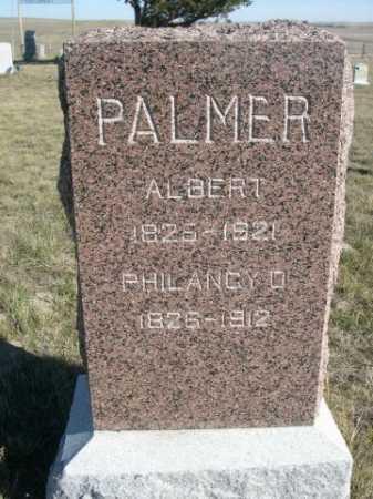 PALMER, PHILANCY O - Dawes County, Nebraska | PHILANCY O PALMER - Nebraska Gravestone Photos