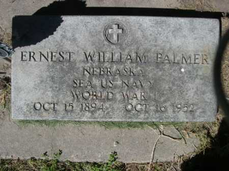 PALMER, ERNEST WILLIAM - Dawes County, Nebraska | ERNEST WILLIAM PALMER - Nebraska Gravestone Photos