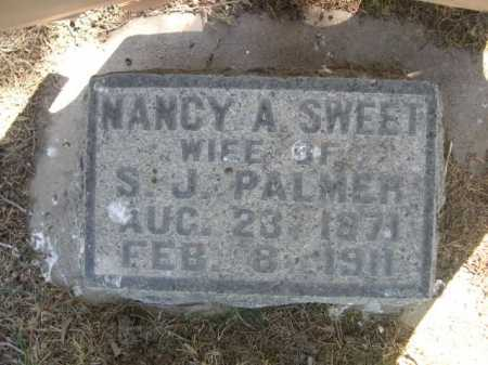 SWEET PALMER, NANCY A. - Dawes County, Nebraska | NANCY A. SWEET PALMER - Nebraska Gravestone Photos