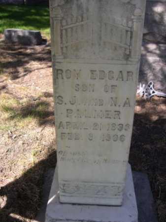 PALMER, ROY EDGAR - Dawes County, Nebraska | ROY EDGAR PALMER - Nebraska Gravestone Photos