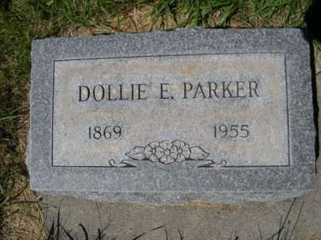 PARKER, DOLLIE E. - Dawes County, Nebraska | DOLLIE E. PARKER - Nebraska Gravestone Photos