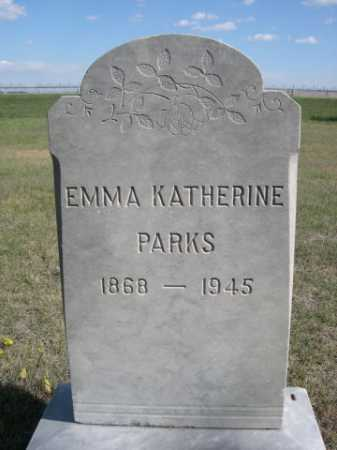 PARKS, EMMA KATHERINE - Dawes County, Nebraska | EMMA KATHERINE PARKS - Nebraska Gravestone Photos