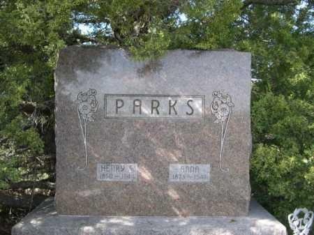 PARKS, ANNA - Dawes County, Nebraska | ANNA PARKS - Nebraska Gravestone Photos