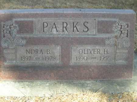 PARKS, OLIVER H. - Dawes County, Nebraska | OLIVER H. PARKS - Nebraska Gravestone Photos