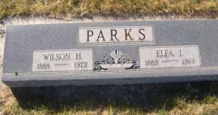 PARKS, ELFA I. - Dawes County, Nebraska | ELFA I. PARKS - Nebraska Gravestone Photos