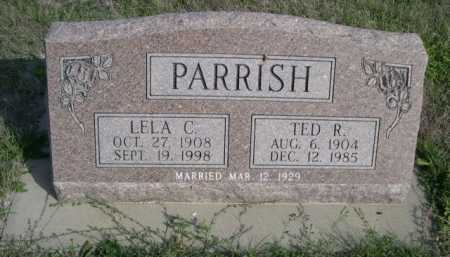 PARRISH, TED R. - Dawes County, Nebraska | TED R. PARRISH - Nebraska Gravestone Photos