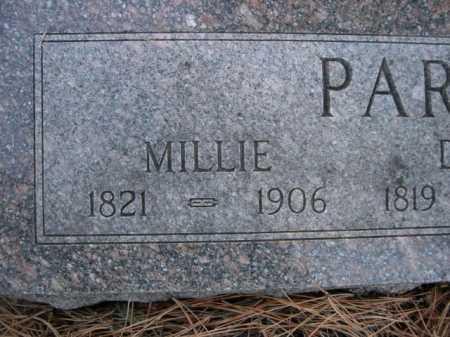 PARRISH, MILLIE - Dawes County, Nebraska | MILLIE PARRISH - Nebraska Gravestone Photos