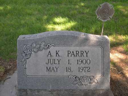 PARRY, A. K. - Dawes County, Nebraska | A. K. PARRY - Nebraska Gravestone Photos