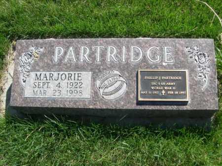 PARTRIDGE, MARJORIE - Dawes County, Nebraska | MARJORIE PARTRIDGE - Nebraska Gravestone Photos