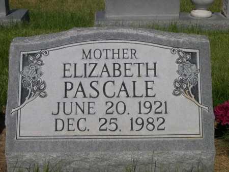 PASCALE, ELIZABETH - Dawes County, Nebraska | ELIZABETH PASCALE - Nebraska Gravestone Photos