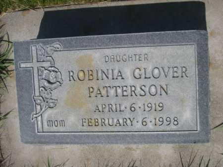 GLOVER PATTERSON, ROBINIA - Dawes County, Nebraska | ROBINIA GLOVER PATTERSON - Nebraska Gravestone Photos