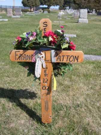 PATTON, FRANCIS - Dawes County, Nebraska | FRANCIS PATTON - Nebraska Gravestone Photos