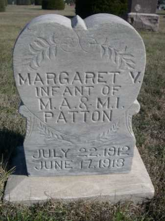 PATTON, MARGARET V. - Dawes County, Nebraska | MARGARET V. PATTON - Nebraska Gravestone Photos
