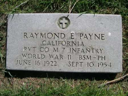 PAYNE, RAMOND E. - Dawes County, Nebraska | RAMOND E. PAYNE - Nebraska Gravestone Photos