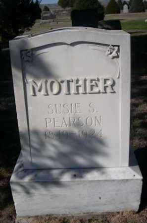 PEARSON, SUSIE S. - Dawes County, Nebraska | SUSIE S. PEARSON - Nebraska Gravestone Photos