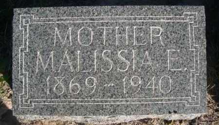 PEERY, MALISSIA E. - Dawes County, Nebraska | MALISSIA E. PEERY - Nebraska Gravestone Photos