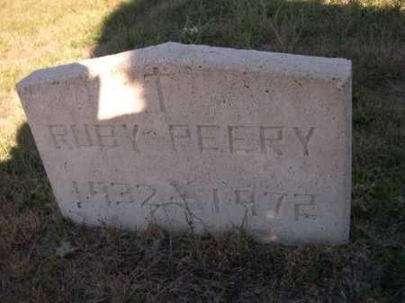 PEERY, RUBY - Dawes County, Nebraska | RUBY PEERY - Nebraska Gravestone Photos